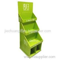 Customized Printing Advertising Cardboard Display Stand Cardboard Display Shelf Cardboard Floor Display