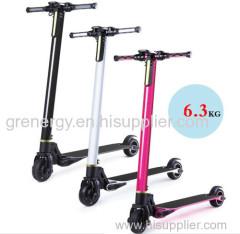 2 wheel carbon fibre electronic scooter