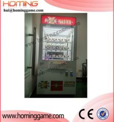 Coin operated push win game machine/push win prize vending machine
