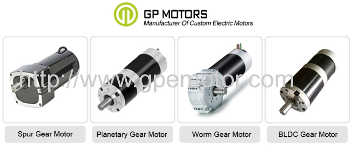 Electric 12v 24v Low Rpm Worm Geared DC Brushless Gear Motor
