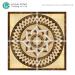 Anti-slip Polished Crystal Decorative Ceramic Carpet Tile For Hotel Lobby Floor Tile