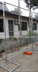 6ftX12ft chain link mesh type portable fence panel
