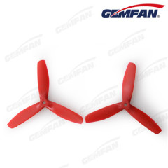 remote control airplanes 3 blades 5050 glass fiber nylon bullnose propeller