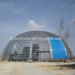 Limestone steel space structure space frame