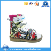 European market children orthopedic shoes children leather sandals flat foot shoes