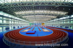 Stadium space frame structure for stadium gym