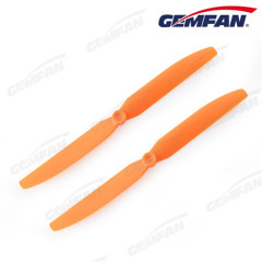 7x3.5 inch 2-blades oranje ABS direct drive propellers voor FPV racing