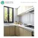 Gray Wall Tiles Design Backsplash 3d Mosaic Glass Tiles For Kitchen