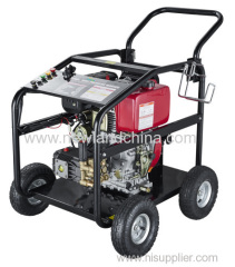 high pressure washer diesel engine with four wheels