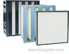 High efficiency low resistance large dust holding capacity moisture-proof hepa filter