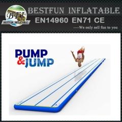 Korea DWF inflatable air gym track tumbling mat