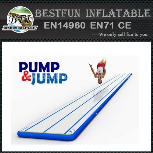 Cheap drop stitch PVC inflatable gym mat
