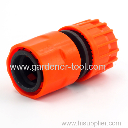 Plastic 5/8 ~3/4  quick hose connector