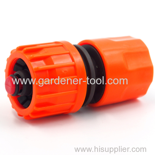 Plastic 1/2 inch to 5/8 inch waterstop quick connector