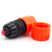 "Plastic 1/2""&5/8"" hose pipe connector with waterstop"