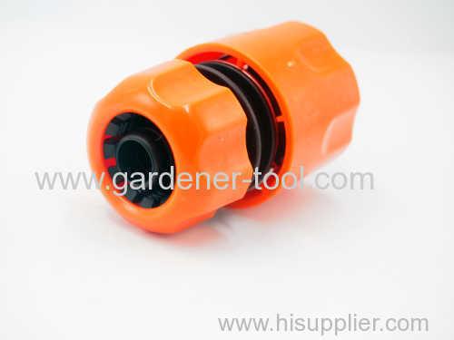 Plastic 1/2  Snap in garden hose quick connector