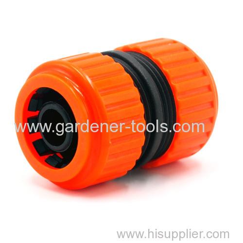 Plastic 3/4  garden hose pipe mender
