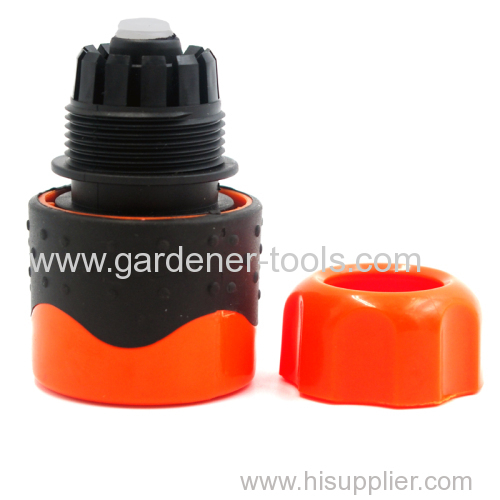 Plastic 1/2  water hose pipe soft female waterstop fitting