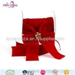 Decorative Velvet Ribbon For Bows/Pure Handmade Velvet Ribbon Bows