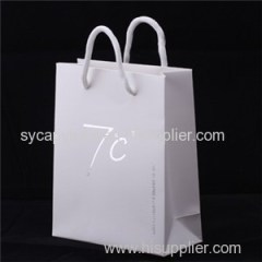 White Paper Bags Product Product Product