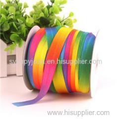 Rainbow Textile Printer For Lady Rainbow Hair