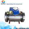 side entry trunnion forged flange ball valve