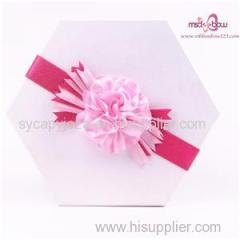 Ribbon Flower For Gift Box Package