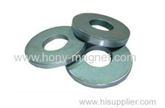 Axial Strong Ring Magnets N35 Grade Nickel Coating Performance
