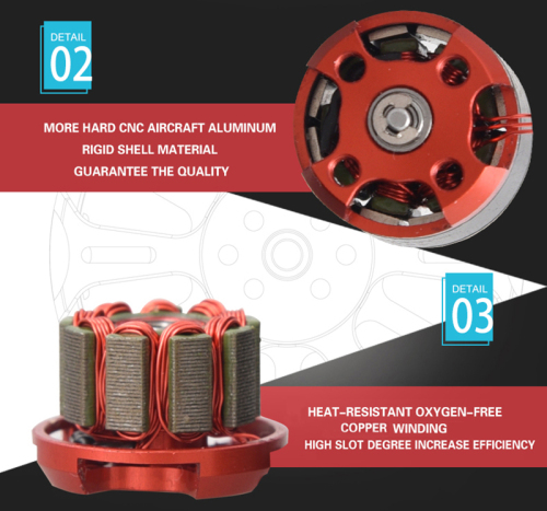 Brushless MOTOR 1104 - 4000KV MICRO MOTOR Brushless Motor for Mulit Rotor