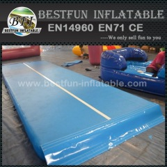 Gymnastics training pads inflatable