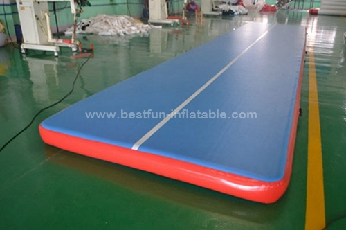 Air Track Pro Silent tumble track inflatable air mat for gymnastics