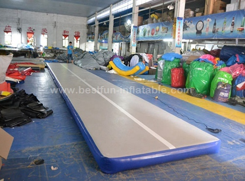 Cheerleading inflatable air track inflatable gym