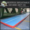 Floating inflatable yoga mat inflatable tumbling mat