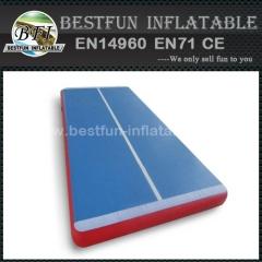 Custom made inflatable tumble air floor
