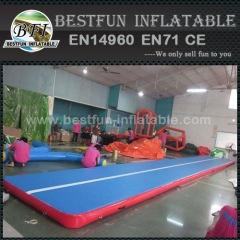 maison utilisée tapis de chute gonflable pour les enfants