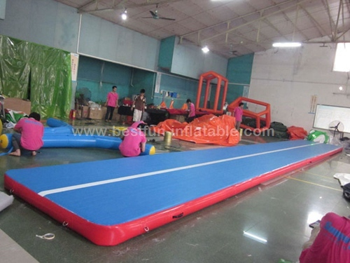 Home used inflatable crash mat for kids