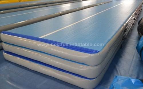 Indoor Or Outdoor Inflatable Air Gym Mat Tumble Track