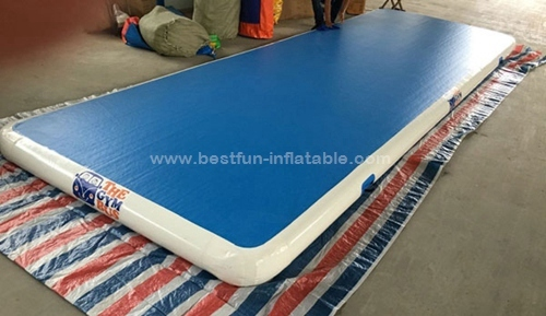 Inflatable gymnastic jumping safety mats
