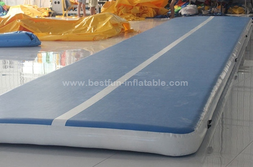 Inflatable running air floor track for gym