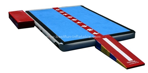 Outdoor Drop Stitch inflatable air tumbling track