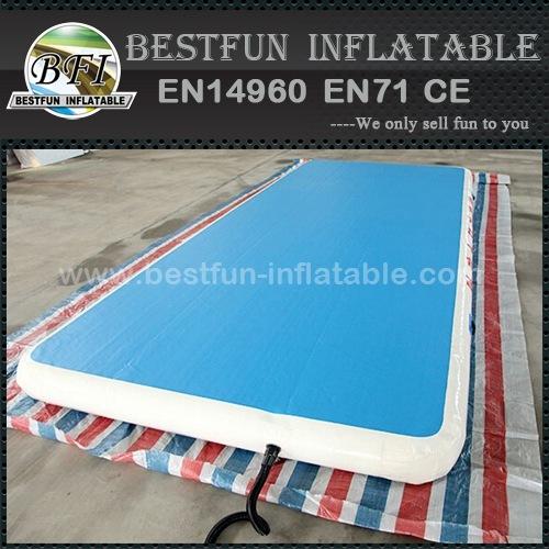 Gymnastic mat for indoor stadium