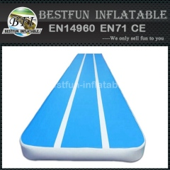 Double wall fabric DWF inflatable air track