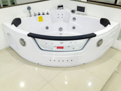 whirlpool massage bathtub with TV