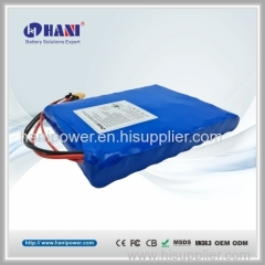 One Wheel Electric Skateboard Battery Li-ion Battery Pack 36V 4.4Ah 10S2P 18650 LG with CE FCC IEC62133 Approval