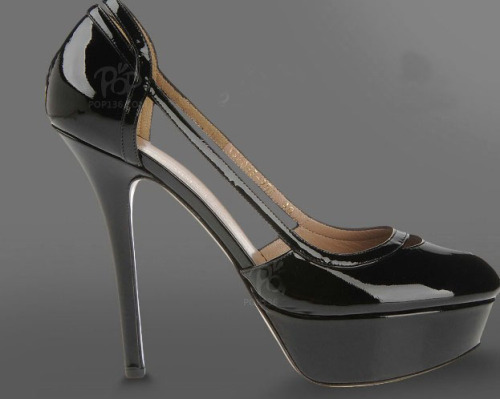 High heel ladies peep toe dress shoes
