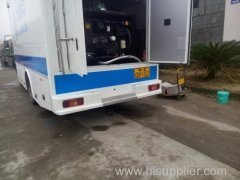 caminhão nacional de comunicações de emergência cooperação de governo