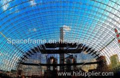 space frame kolenhok van de elektriciteitscentrale