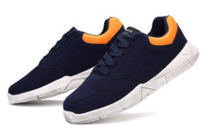New PU suede men wrap up sports shoes