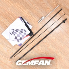 120CM*7CM*6CM for multirotor FPV Racing Air Flag 340cm include flagpole & nail