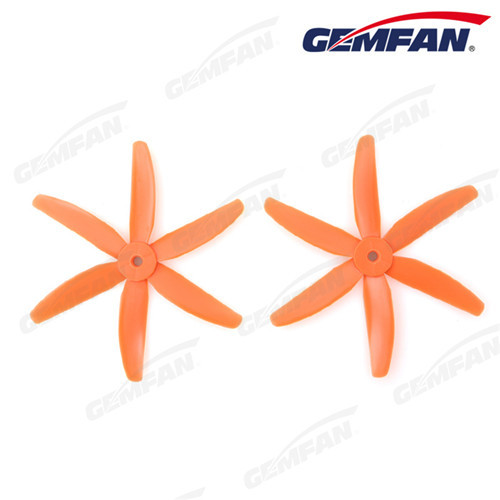 5x4 inch glass fiber nylon 6-blades Propeller CW CCW For FPV Racing